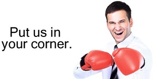 Want someone in your corner?
